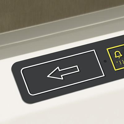 Bedienung Plattform-Treppenlift