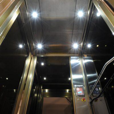 Kabinenbeleuchtung Homelift von Ganser Liftsysteme
