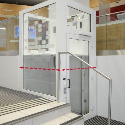 Variable Schachtgröße Hebebühne GHB20 von Ganser Liftsysteme