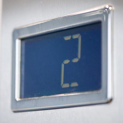 Stockwerksanzeige Kabinenlift Ganser Liftsysteme